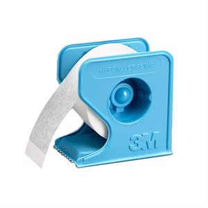 "3M MicroPore Tape Dispensor 1"" by 1 yard 12 Rolls"