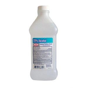 Alcohol, Isopropyl, 70%, Pint Each