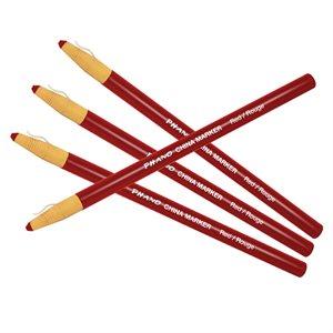 China Marker, Red Box of 12