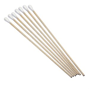 """Cotton Tipped Applicator 6"""" NS 10 Packs of 100"""