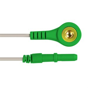 """KING Snap Lead / DIN Connector Qty 5, 3.0m (120"""") 5 Colour, R / W / BL / BR / G"""