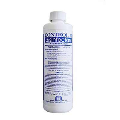 Control III Disinfectant 16 oz Concentrate Qty 1