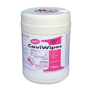Cavicide 1 xl 65 wipes / Canister, Qty 1