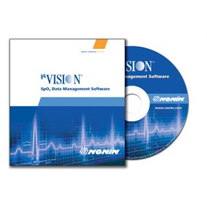 NONIN nVision Data Management Software for Sp02 Screening CD-ROM